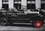Image of 15 millionth Ford Model T Highland Park Michigan USA, 1927, second 41 stock footage video 65675030986