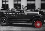 Image of 15 millionth Ford Model T Highland Park Michigan USA, 1927, second 43 stock footage video 65675030986
