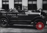 Image of 15 millionth Ford Model T Highland Park Michigan USA, 1927, second 44 stock footage video 65675030986