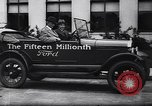 Image of 15 millionth Ford Model T Highland Park Michigan USA, 1927, second 45 stock footage video 65675030986