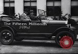 Image of 15 millionth Ford Model T Highland Park Michigan USA, 1927, second 46 stock footage video 65675030986