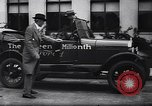 Image of 15 millionth Ford Model T Highland Park Michigan USA, 1927, second 50 stock footage video 65675030986