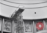 Image of giant globe room United States USA, 1937, second 15 stock footage video 65675031002