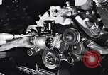 Image of Engine assembly and testing Dearborn Michigan USA, 1938, second 21 stock footage video 65675031005