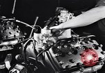 Image of Engine assembly and testing Dearborn Michigan USA, 1938, second 28 stock footage video 65675031005