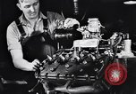 Image of Engine assembly and testing Dearborn Michigan USA, 1938, second 40 stock footage video 65675031005
