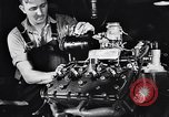 Image of Engine assembly and testing Dearborn Michigan USA, 1938, second 41 stock footage video 65675031005