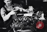 Image of Engine assembly and testing Dearborn Michigan USA, 1938, second 42 stock footage video 65675031005