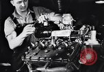 Image of Engine assembly and testing Dearborn Michigan USA, 1938, second 43 stock footage video 65675031005