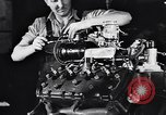Image of Engine assembly and testing Dearborn Michigan USA, 1938, second 46 stock footage video 65675031005