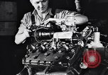 Image of Engine assembly and testing Dearborn Michigan USA, 1938, second 50 stock footage video 65675031005