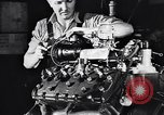 Image of Engine assembly and testing Dearborn Michigan USA, 1938, second 51 stock footage video 65675031005
