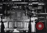 Image of Metal pressing machine Dearborn Michigan USA, 1930, second 5 stock footage video 65675031014