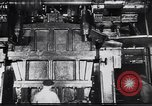 Image of Metal pressing machine Dearborn Michigan USA, 1930, second 7 stock footage video 65675031014