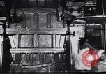 Image of Metal pressing machine Dearborn Michigan USA, 1930, second 12 stock footage video 65675031014