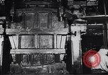 Image of Metal pressing machine Dearborn Michigan USA, 1930, second 13 stock footage video 65675031014