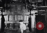 Image of Metal pressing machine Dearborn Michigan USA, 1930, second 15 stock footage video 65675031014