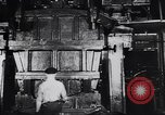 Image of Metal pressing machine Dearborn Michigan USA, 1930, second 16 stock footage video 65675031014