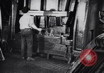 Image of Metal pressing machine Dearborn Michigan USA, 1930, second 17 stock footage video 65675031014