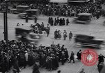 Image of busy intersection United States USA, 1920, second 4 stock footage video 65675031017