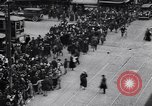 Image of busy intersection United States USA, 1920, second 7 stock footage video 65675031017