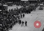 Image of busy intersection United States USA, 1920, second 8 stock footage video 65675031017