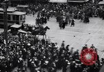 Image of busy intersection United States USA, 1920, second 13 stock footage video 65675031017