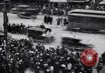 Image of busy intersection United States USA, 1920, second 15 stock footage video 65675031017