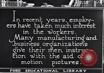 Image of Training and care of American workers United States USA, 1920, second 3 stock footage video 65675031025