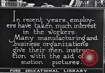 Image of Training and care of American workers United States USA, 1920, second 5 stock footage video 65675031025