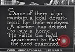 Image of Training and care of American workers United States USA, 1920, second 25 stock footage video 65675031025