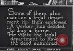 Image of Training and care of American workers United States USA, 1920, second 29 stock footage video 65675031025