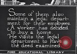 Image of Training and care of American workers United States USA, 1920, second 33 stock footage video 65675031025
