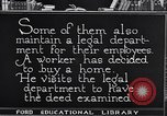 Image of Training and care of American workers United States USA, 1920, second 36 stock footage video 65675031025