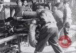 Image of Ford Motor Company assembly line Highland Park Michigan USA, 1917, second 5 stock footage video 65675031026