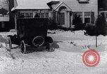 Image of Snowball fight Michigan United States USA, 1917, second 17 stock footage video 65675031029