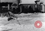 Image of Snowball fight Michigan United States USA, 1917, second 28 stock footage video 65675031029