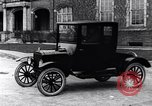 Image of Various Ford Model-T cars United States USA, 1917, second 22 stock footage video 65675031032