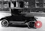 Image of Various Ford Model-T cars United States USA, 1917, second 24 stock footage video 65675031032