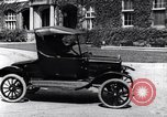 Image of Various Ford Model-T cars United States USA, 1917, second 28 stock footage video 65675031032