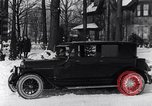 Image of Ford Model-T sedan Michigan United States USA, 1925, second 13 stock footage video 65675031034