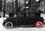 Image of Ford Model-T sedan Michigan United States USA, 1925, second 16 stock footage video 65675031034