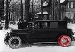 Image of Ford Model-T sedan Michigan United States USA, 1925, second 17 stock footage video 65675031034