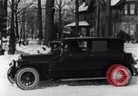 Image of Ford Model-T sedan Michigan United States USA, 1925, second 28 stock footage video 65675031034