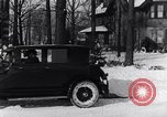 Image of Ford Model-T sedan Michigan United States USA, 1925, second 33 stock footage video 65675031034