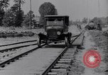 Image of Ford Model-T on rough roads United States USA, 1917, second 5 stock footage video 65675031035