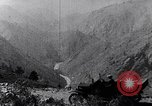 Image of Ford cars travel mountain roads United States USA, 1917, second 41 stock footage video 65675031041