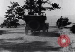 Image of Ford cars travel mountain roads United States USA, 1917, second 57 stock footage video 65675031041