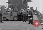 Image of Cleanup after USS Forrestal fire Gulf of Tonkin Vietnam, 1967, second 14 stock footage video 65675031060