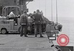 Image of Cleanup after USS Forrestal fire Gulf of Tonkin Vietnam, 1967, second 19 stock footage video 65675031060
